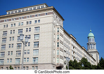socialist architecture in berlin. residential buildings from...