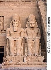 Abu, Simbel, tempel