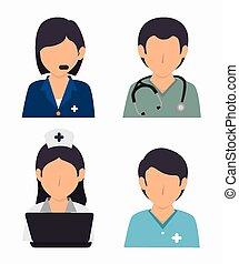 Medical design, vector illustration. - Medical design over...