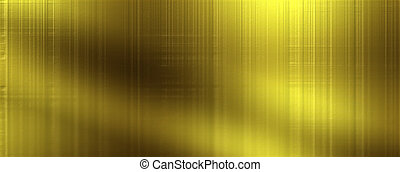 Gold Texture Panoramic Background