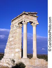 The Temple of Apollo at Kourion the Greco Roman...