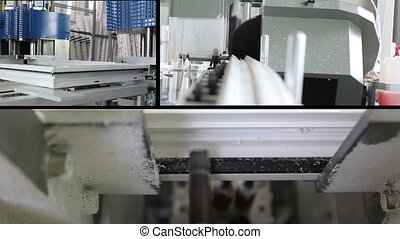 production of plastic windows - multiscreen