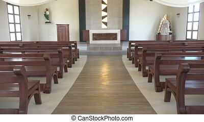 Simple Caribbean Beach Church - An amazing beach church tilt...