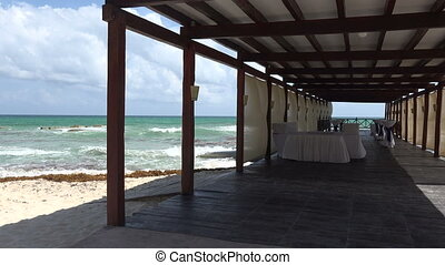 Event Pier on Beach - Check out the amazing event pier on...