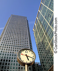 Time Is Money Canary Wharf