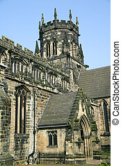 Chester Cathedral in the city of Chester, Cheshire has a...