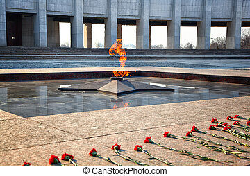 Eternal Flame - symbol of victory in World War II....