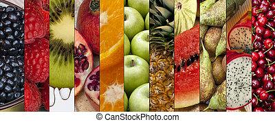 食物, 新たに, フルーツ,  -
