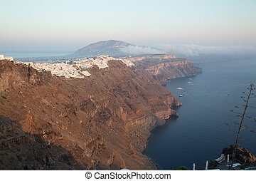Imerovigli  - The beautiful city of Imerovigli at Santorini