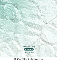 Abstract geometric background of cr