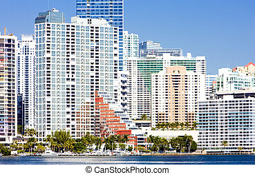 Downtown Miami, Florida, USA