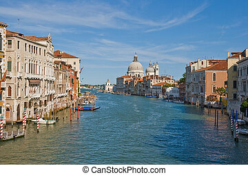 Grand Canale - Noon view of Grand Canale in Venice
