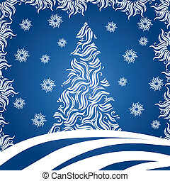 Christmas Tree (vector)