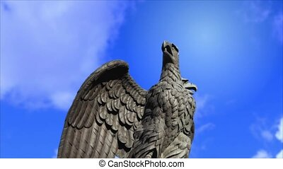 Double headed eagle spreads its win - double eagle Russian...