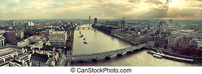 Westminster rooftop view - Westminster viewed from London...