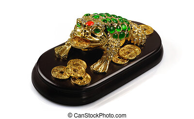 Symbol of Feng-Shui: Three-legged Toad (good fortune)