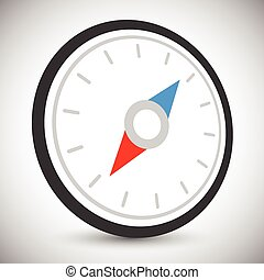 Compass icon, compass symbol      Compass icon, compass symbol