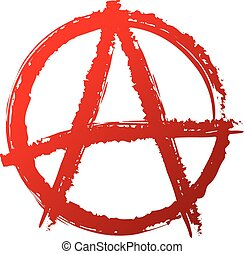 Anarchy symbol or sign. Anarchy, punk, anarchism, anarchist,...