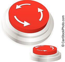 Machine operation button. Restart, repeat, recurring, sync,...