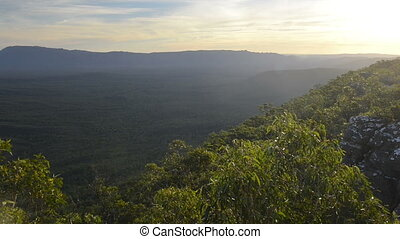 Australian Bush - Landscape scenic of the Australia bush in...