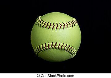 Yellow Fastpitch Softball