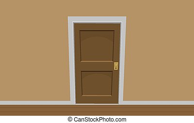 room doors vector art - photo #2