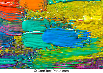 Abstract art backgrounds Hand-painted background SELF MADE...