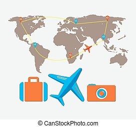 travel tour of the world