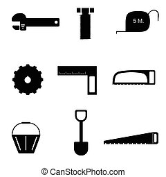 tools icon set