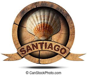 Santiago de Compostela - Pilgrimage Symbol - Pilgrimage...