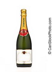 champanhe, garrafa