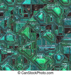 Technology circuitry backgrund