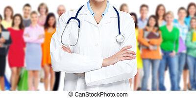 médico,  doctor