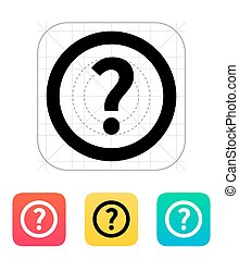 Question icon.