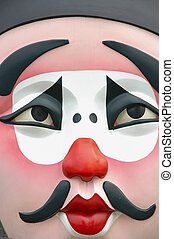 Beijing opera mask. - Famous traditional chinese Beijing...