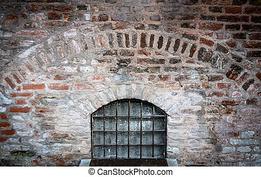 Medieval Dungeon - Bars On A Window Of A Medieval Dungeon