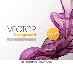 Abstract wave template background brochure design - Vector...
