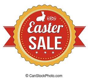 Easter sale badge