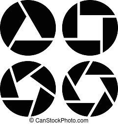 Shutter Symbols