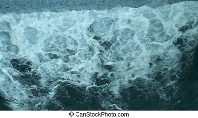 Water foam. Abstract background