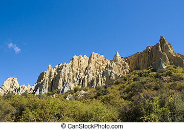 Omarama Clay Cliffs.