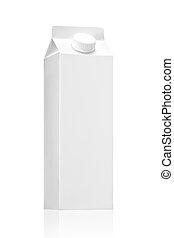 Milk box, juice box carton package - Milk box or juice box...
