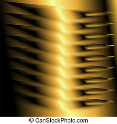 Background abstract golden light