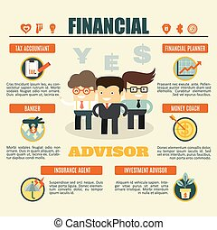 financial advisor infographics