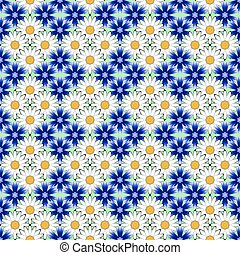 Design seamless flower pattern. Decorative background....