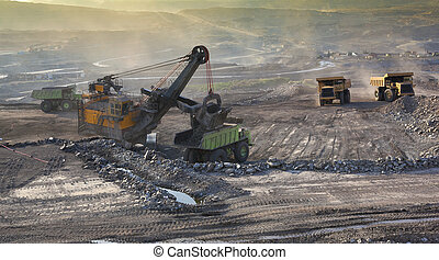 Mine Mae Moh coal-fired power plant in Thailand.