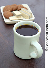 café, lanche