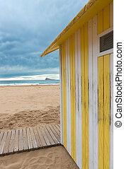 Beach hut - Ocean view with beach hut