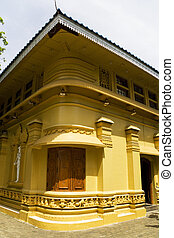 Gangaramaya Temple, Colombo, Sri Lanka - Image of...