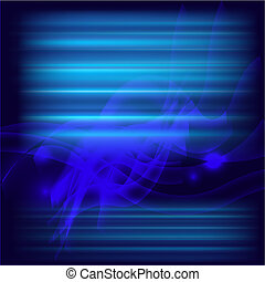 Abstract silk blue background